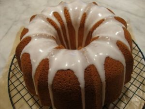 Iced Citrus Bundt Cake