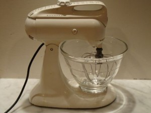Greg Patent's Kitchen Aid Model 3 Mixer