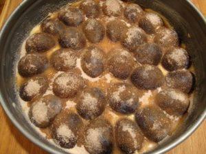 Plum Torte Ready to Bake - Greg Patent: The Baking Wizard