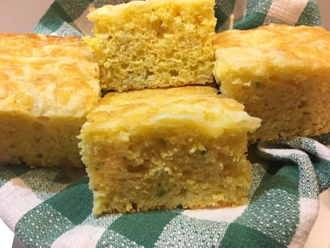 Greg Patent the baking wizard's spicy and cheesy cornbread