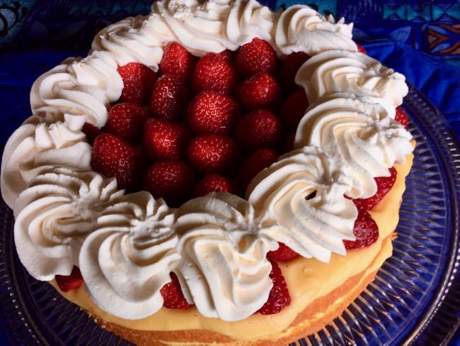 Greg Patent Strawberry Cream Cake