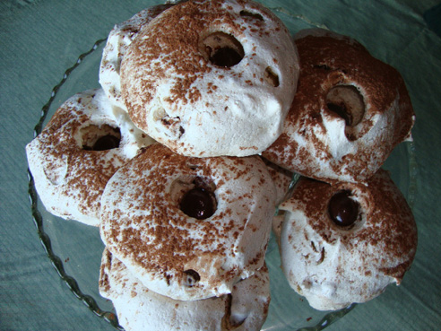 Just the Recipe: Chocolate Pecan Meringues