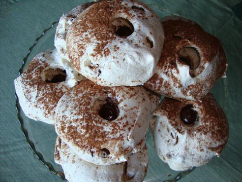Just the Recipe: Chocolate Pecan Meringues