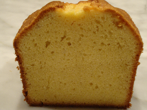 Recipe and Tips: Pound Cake