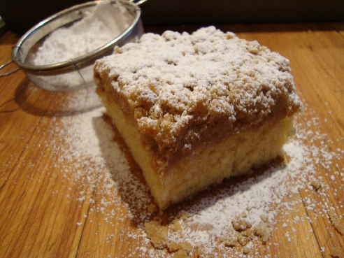 Just the Recipe: New York Style Crumb Cake