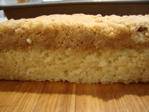 Recipe and Tips: New York Style Crumb Cake
