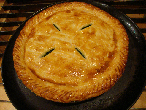 Just the Recipe: Greek Greens Pie
