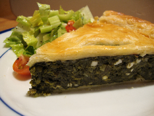Recipe and Tips: Greek Greens Pie