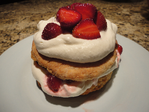 Recipe and Story: Strawberry Shortcake