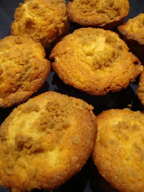 Apple Muffins with Browned Butter Streusel
