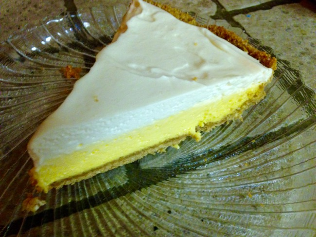 Florida Sour Orange Pie