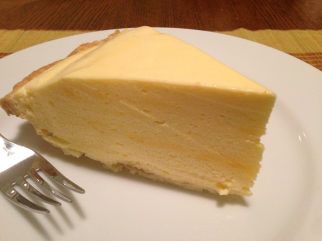 Passion Fruit (Lilikoi) Chiffon Pie