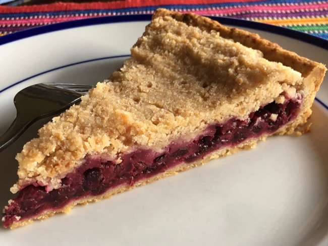 Huckleberry Tart