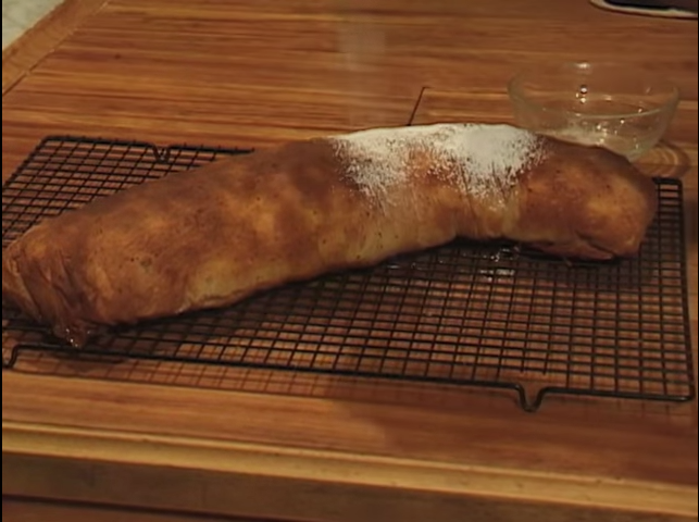 A Baker's Odyssey: Apple Strudel Recipe