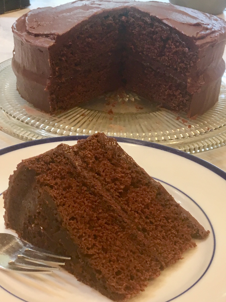 Chocolate Party Layer Cake