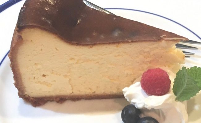 Lindy's Cheesecake: The Recipe