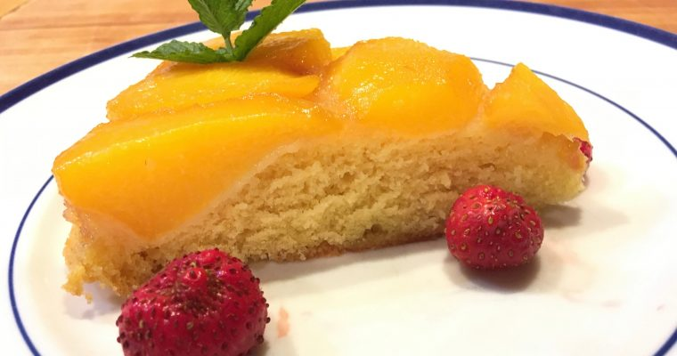 Just the Recipe: Peach Upsidedown Cake