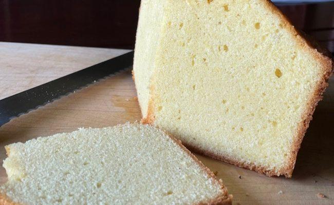 Musings on Pound Cake